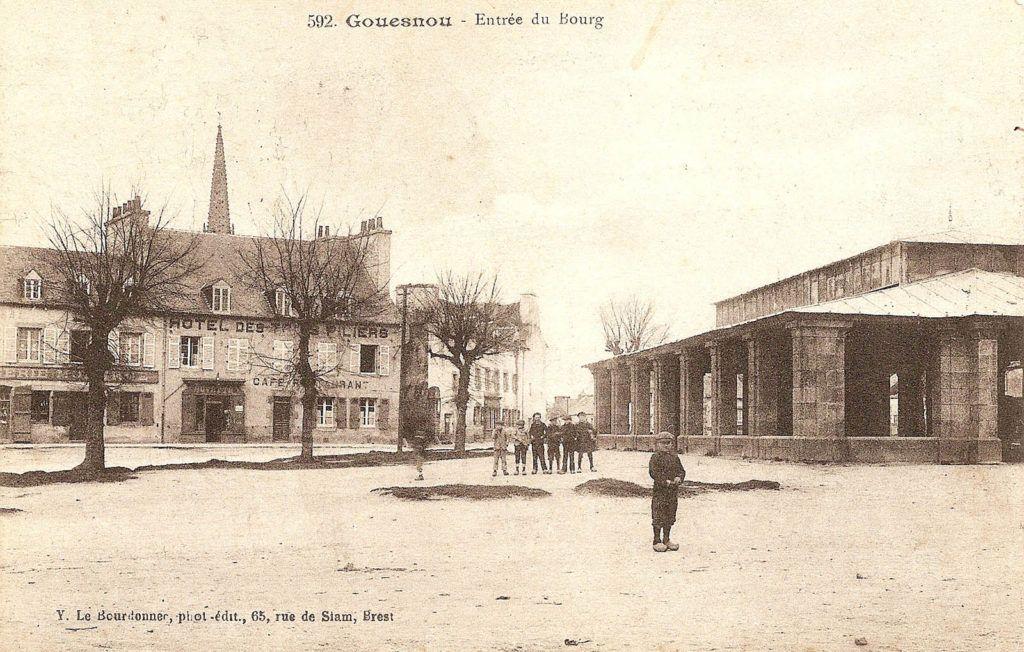 L'entrée du bourg de Gouesnou